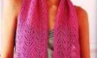 Ажурні шарфи. Де можна купити? Фото.