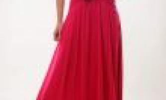 Довгі сукні на випускний класичний варіант