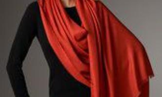 Як стильно зав`язати шарф?