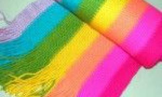 Як зв`язати шарф дитині