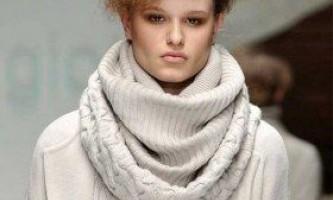 Як зв`язати шарф снуд