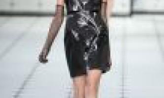 Коктейльні сукні 2013. Фото модних фасонів