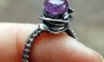 Кільце: аметист особливості каменю