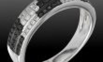 Кільце з чорним діамантом загадковий аксесуар