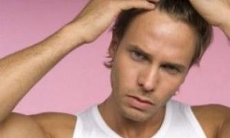Лікування випадіння волосся у чоловіків
