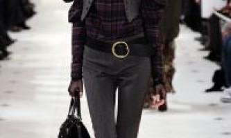 Модний одяг зима 2012