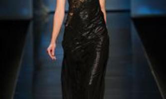 Модні сукні на новий рік 2013