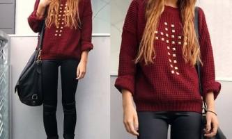 Модні светри 2015 року
