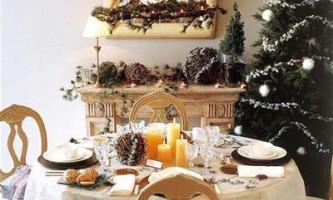 Новорічний стіл як його прикрасити?