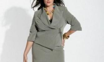 Одяг для повних: як вибрати костюм
