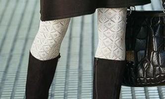 Восени будуть модними білі колготки
