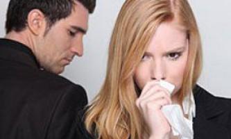 Основні причини розлучення