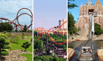 Парки атракціонів в іспанії