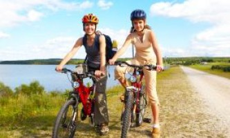 Користь їзди на велосипеді для підлітка