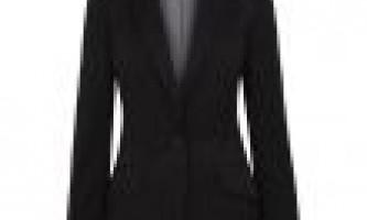 З чим одягнути чорний піджак? Фото
