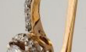 Сережки з фіанітів купити онлайн
