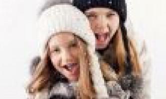 Шапки для дівчаток чобі (chobi) фасони і прикраси
