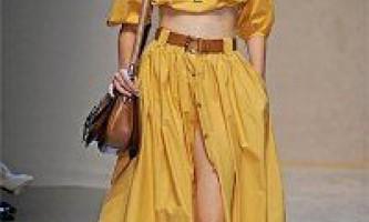 Тенденції моди сезону колекція весна 2012