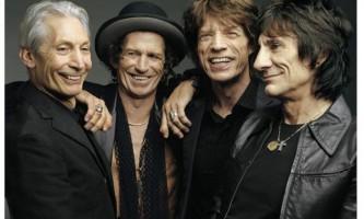 The rolling stones записують пісні в парижі. Вихід нового альбому