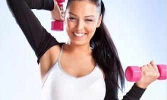 Вправи для схуднення з гантелями