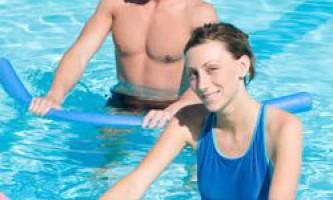 Вправи в воді для схуднення