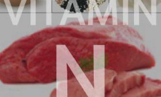 Вітамін n (ліпоєва кислота)