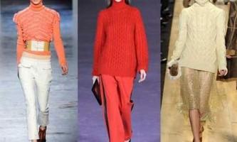 В`язані светри - завжди актуально і тепло
