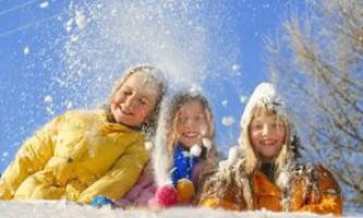 Зимовий відпочинок 2014 з дітьми в місті